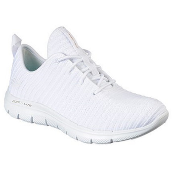 Skechers Damen Flex Appeal 2.0 Estates weiß