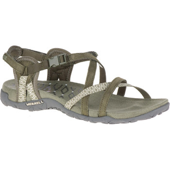 Merrell Damen Sandale Terran Lattice II olive