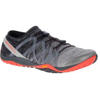 Merrell Herren Barfußschuh Trail Glove 4 Knit grau schwarz