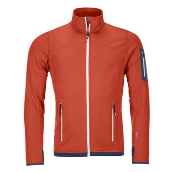 Ortovox Fleece Light Jacket Men orange