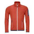 Ortovox Fleece Light Jacket Men orange