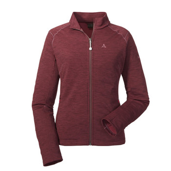 Schöffel Damen Fleece Jacket Nagoya rot