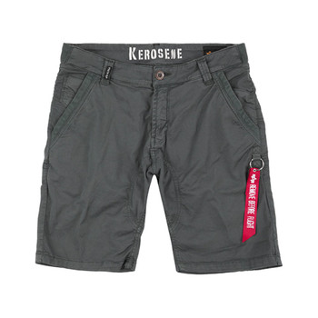 Alpha Industries Herren Kerosene Short grau