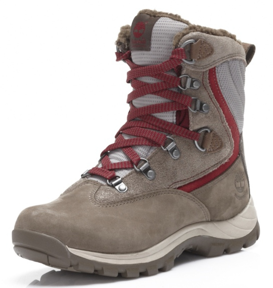 sports shoes 17ef1 0e0a3 Timberland EARTHKEEPERS Chillberg Sport WP Ws Grey Damen Winterstiefel -  Grau