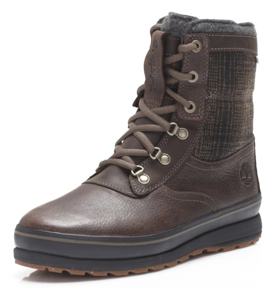 Timberland EARTHKEEPERS Schazzberg High WP 8 inch Dark Brown Herren Winterstiefel - Braun