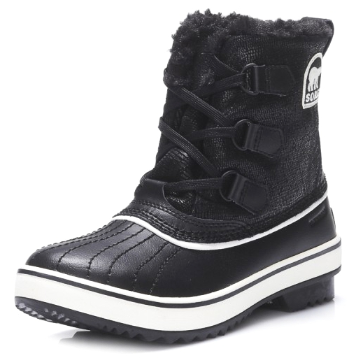 Sorel Winterstiefel TIVOLI Black/Turtledove - Schwarz