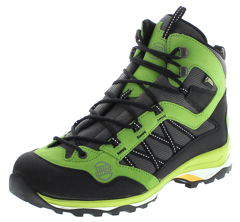 Hanwag 5450-715 BELORADO MID GTX Birch Green Herren Hiking Stiefel - Grün