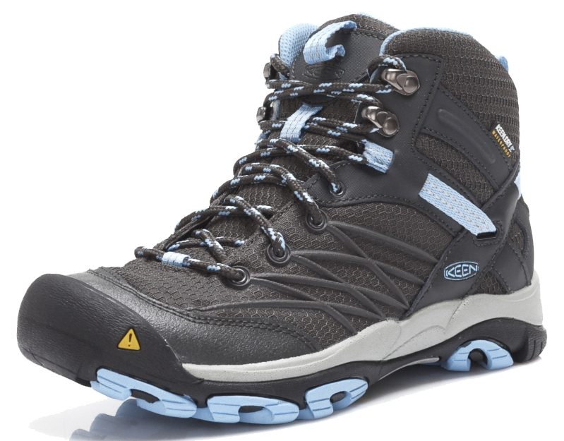 Keen MARSHALL MID WP Raven Blue Damen Hikingstiefel Schwarz