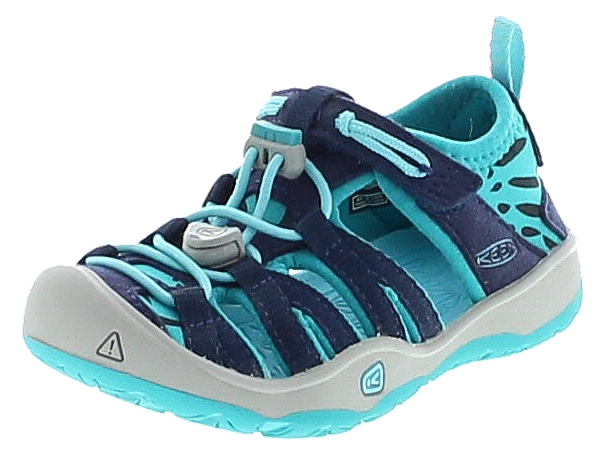 Keen 1016354 MOXIE SANDAL Dress Blues Viridian Kinder Outdoor-Sandalen - Blau