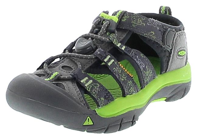 Keen 1016591 NEWPORT H2 Gargoyle Monsters Kinder Outdoor-Sandalen - Grau