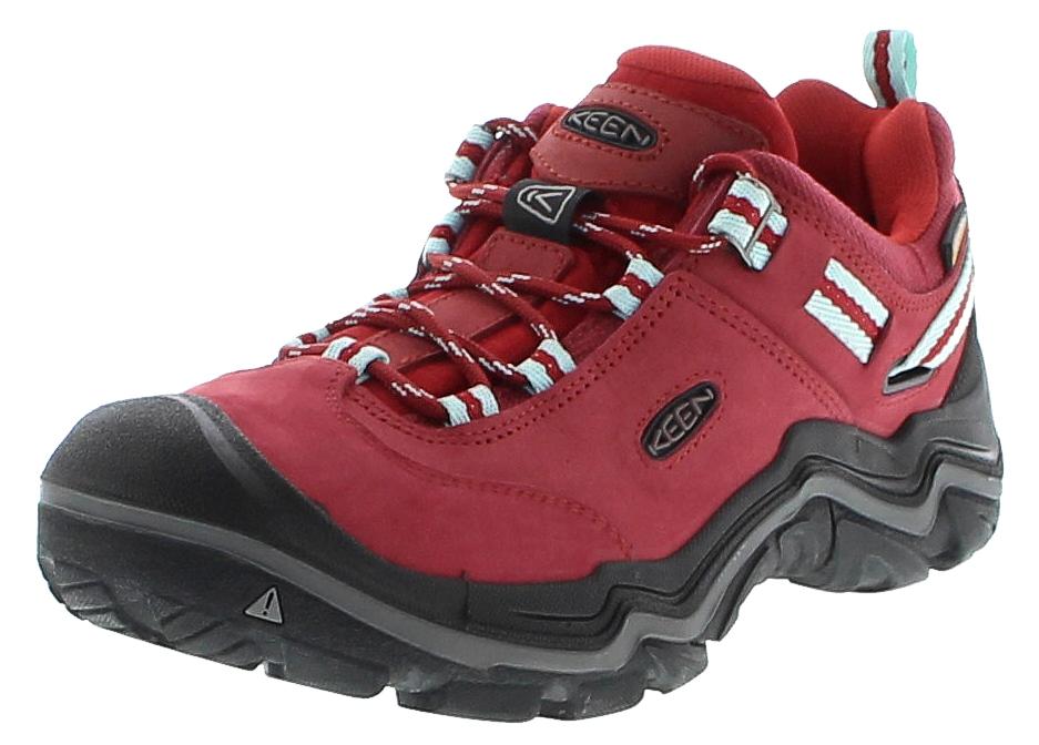 Keen WANDERER WP W Chili Pepper Gargoyle Damen Hiking Schuhe - Rot