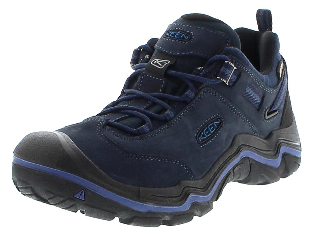 Keen WANDERER WP Dark Sea Night Herren Hiking Schuhe - Blau
