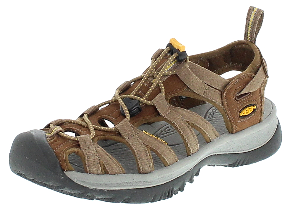 Keen WHISPER Coffee Liquor Yellow Kinder Outdoor-Sandalen - Braun
