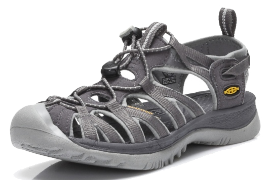 Keen WHISPER Magnet Neutral Gray Damen Outdoor-Sandalen Grau