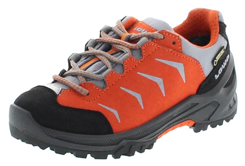 Lowa APPROACH GTX LO JUNIOR Orange Kinder Hiking Schuhe