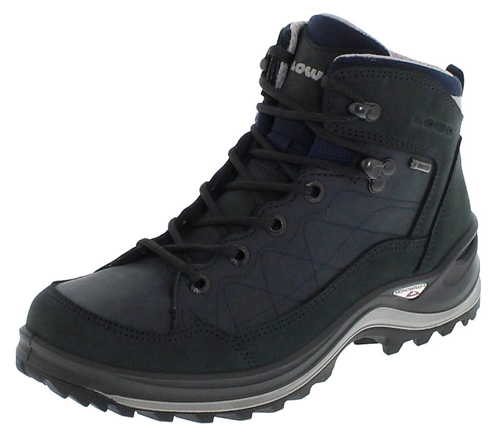 Lowa BORMIO GTX QC WS Navy Grau Damen Trekking Stiefel