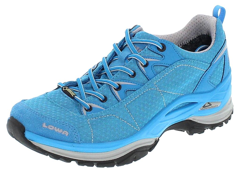 Lowa 320610-0669 FERROX GTX LO WS Türkis Damen Hiking Schuhe
