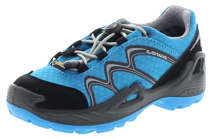 Lowa INNOX GTX LO JUNIOR Blau Schwarz Kinder Hiking Schuhe