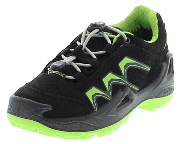 Lowa INNOX GTX LO JUNIOR Schwarz Limone Kinder Hiking Schuhe
