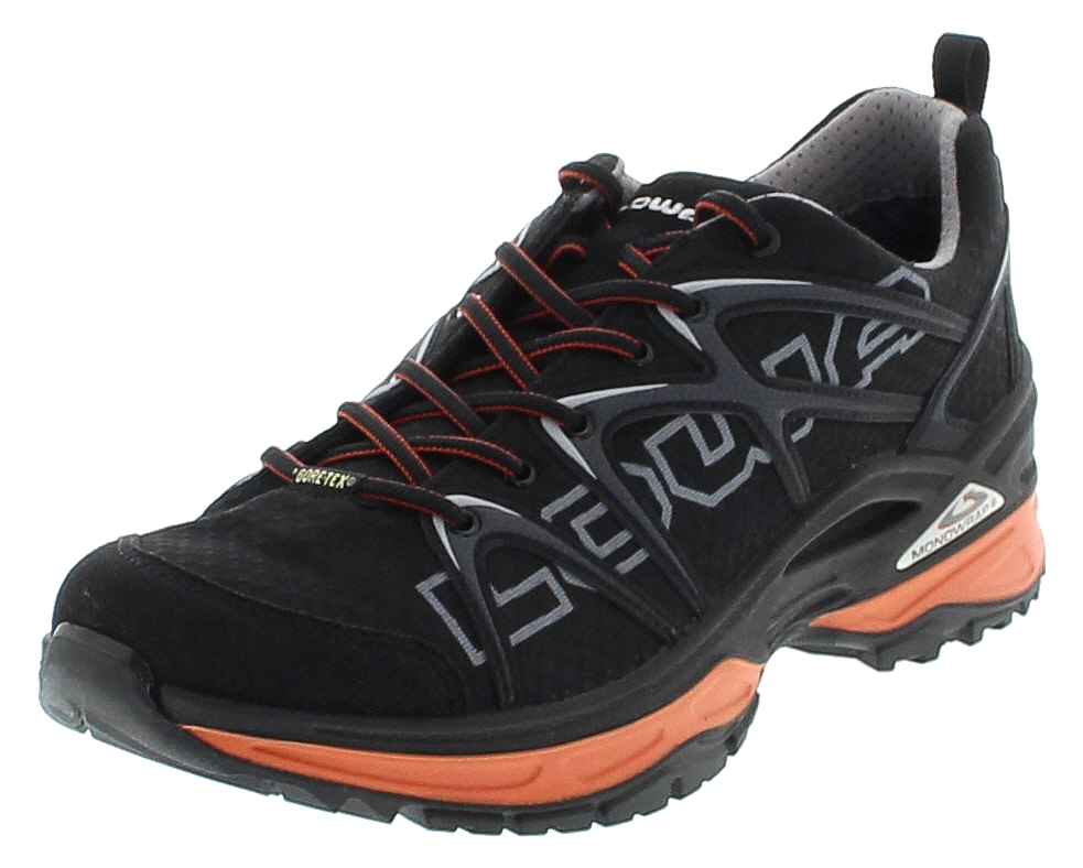 Lowa INNOX GTX LO Schwarz Orange Herren Hiking Schuhe