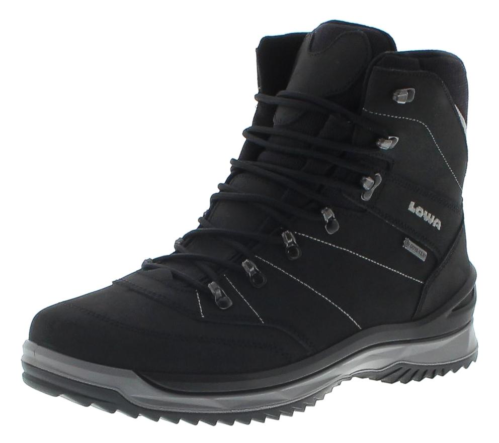 Lowa 410521-9930 SEDRUN GTX MID Schwarz Grau Herren Hiking Stiefel