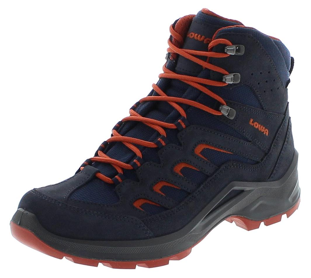 Lowa SESTO GTX MID Navy Rost Herren Trekking Schuhe