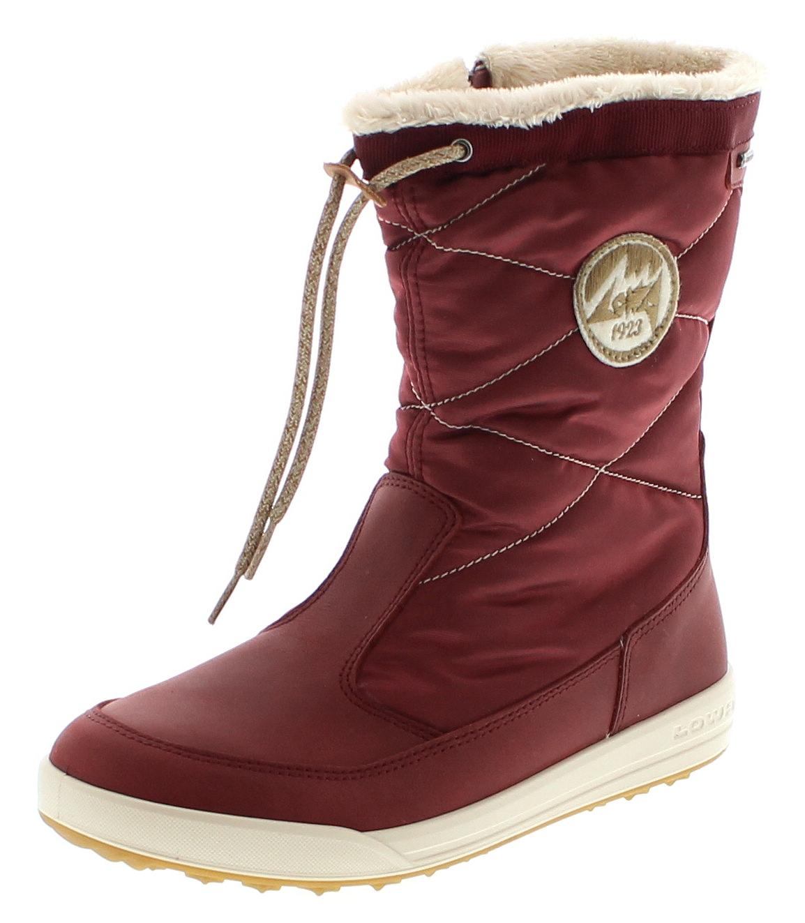 Lowa 420518-0347 VALLOIRE GTX MID WS Bordeaux Damen Hiking Schuhe - Rot