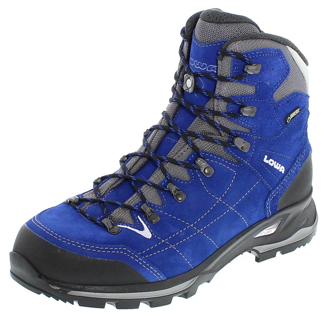 Lowa 210698-6020 VANTAGE GTX MID Blau Silber Herren Trekking Schuhe