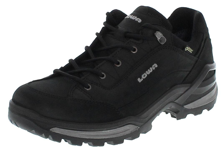 Lowa 310963 9927 RENEGADE GTX LO Schwarz Graphit Herren Trekking Schuhe