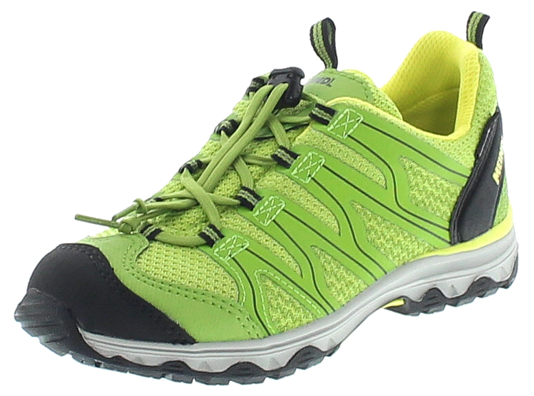 Meindl WAVE JUNIOR Lemon Grün Kinder Hiking Schuhe