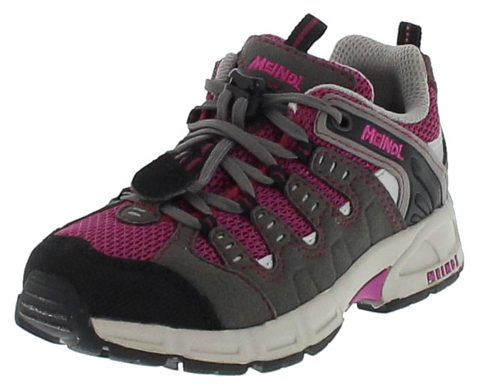 Meindl 2044-81 RESPOND JUNIOR Brombeer Grau Kinder Hiking Schuhe