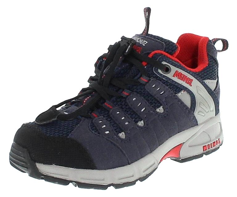 Meindl 2046-49 SNAP JUNIOR Marine Rot Kinder Hiking Schuhe - Blau