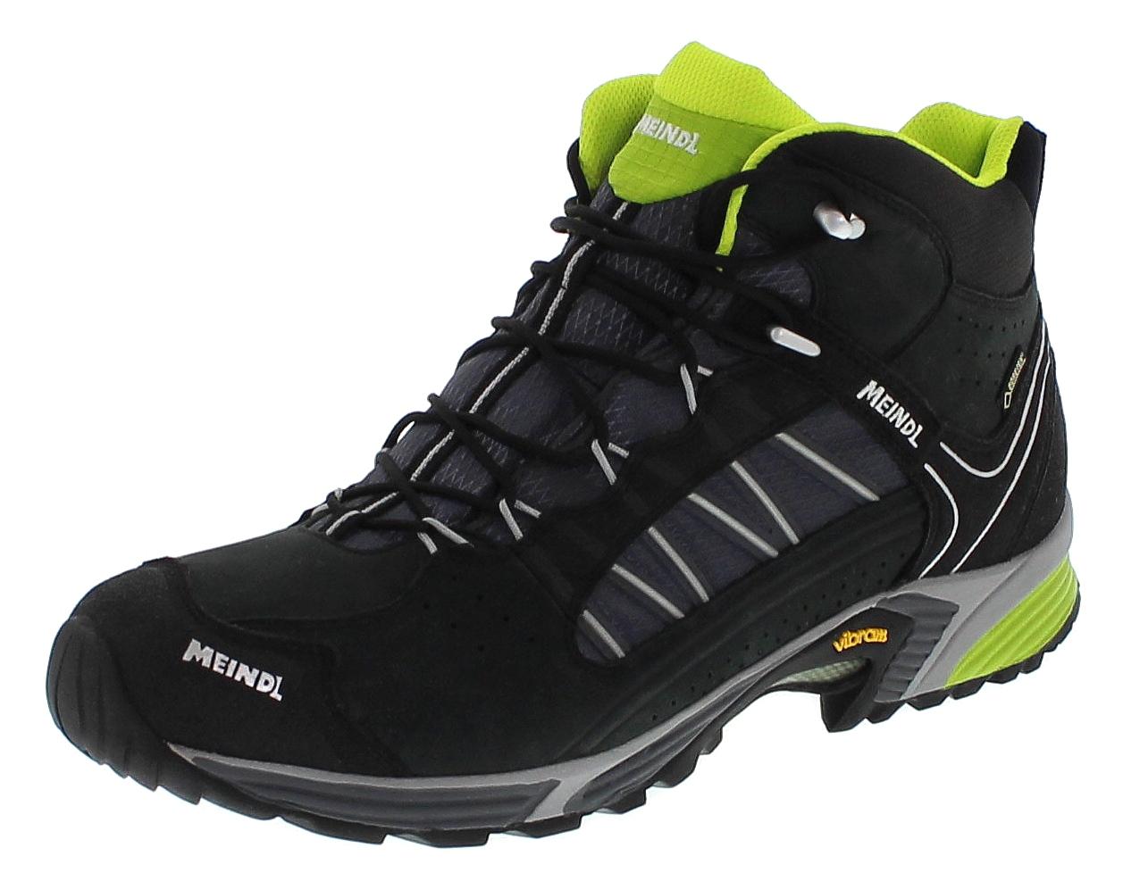 Meindl 3062-01 SX 1.1 MID GTX Schwarz Lemon Herren Hiking Schuhe