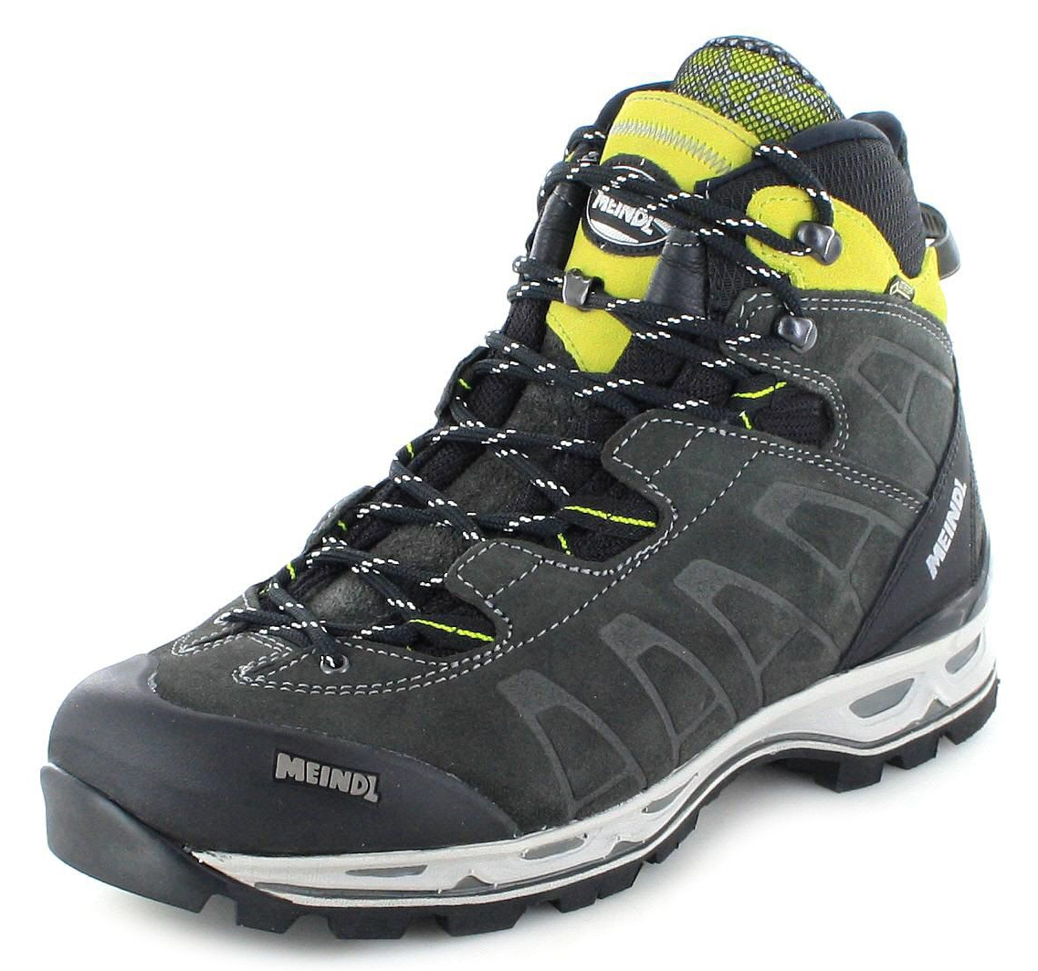 wholesale price the cheapest authentic Meindl 3084-59 AIR REVOLUTION ULTRA Graphit Lemon Herren Hiking Stiefel -  Grau