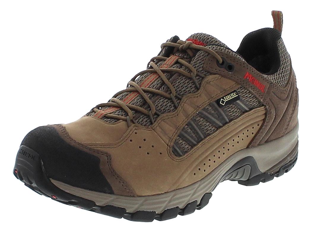 Meindl 5219-06 JOURNEY PRO GTX Schilf Rot Herren Hiking Schuhe - Braun