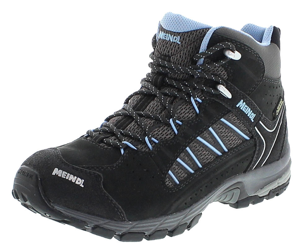 Meindl JOURNEY LADY MID GTX Anthrazit Azur Damen Hiking Schuhe