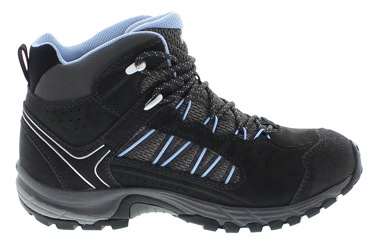 Meindl JOURNEY LADY MID GTX Anthrazit Azur Damen Hiking Schuhe