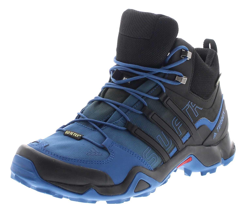 size 40 e3558 efd21 Adidas BA9943 TERREX SWIFT R MID GTX Blau Herren Hiking Schuhe
