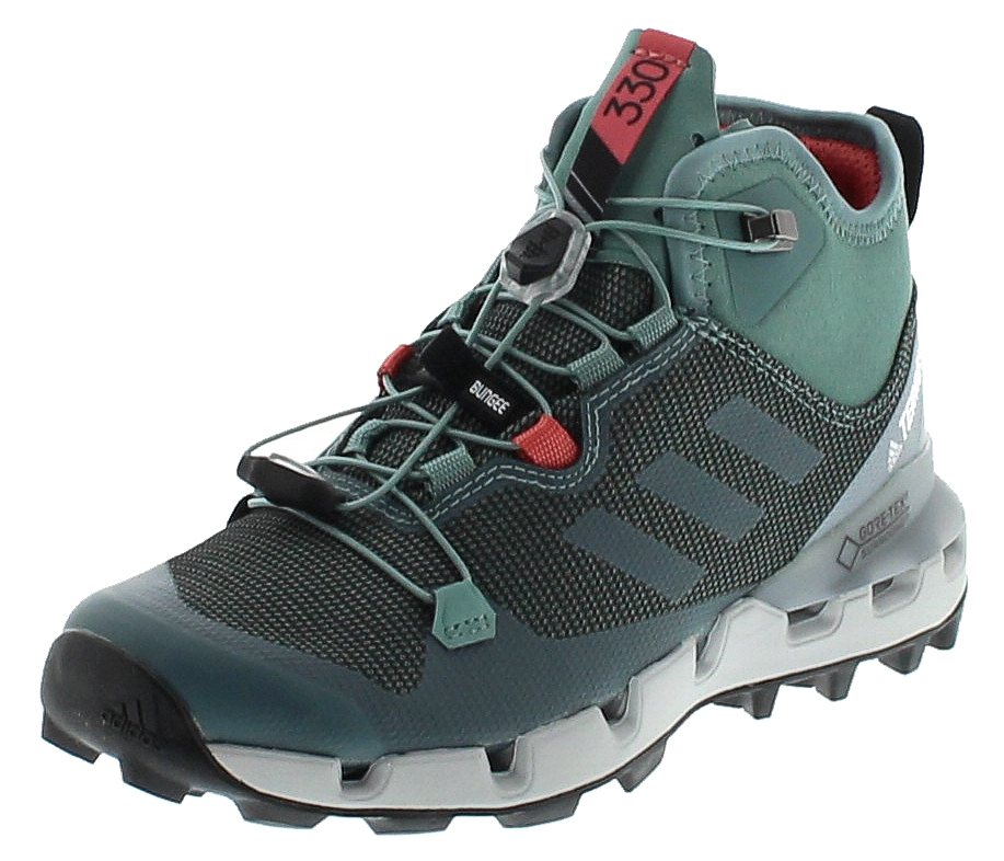 adidas BB0952 TERREX FAST MID GTX-SURROUND Grau Damen Hiking Schuhe