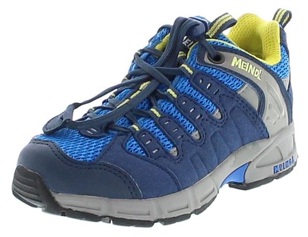 Meindl 2046-29 SNAP JUNIOR Jeans Lemon Kinder Hiking Schuhe - Blau