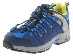 Meindl 2046-29 SNAP JUNIOR Jeans Lemon Kinder Hiking Schuhe - Blau  – Bild 1