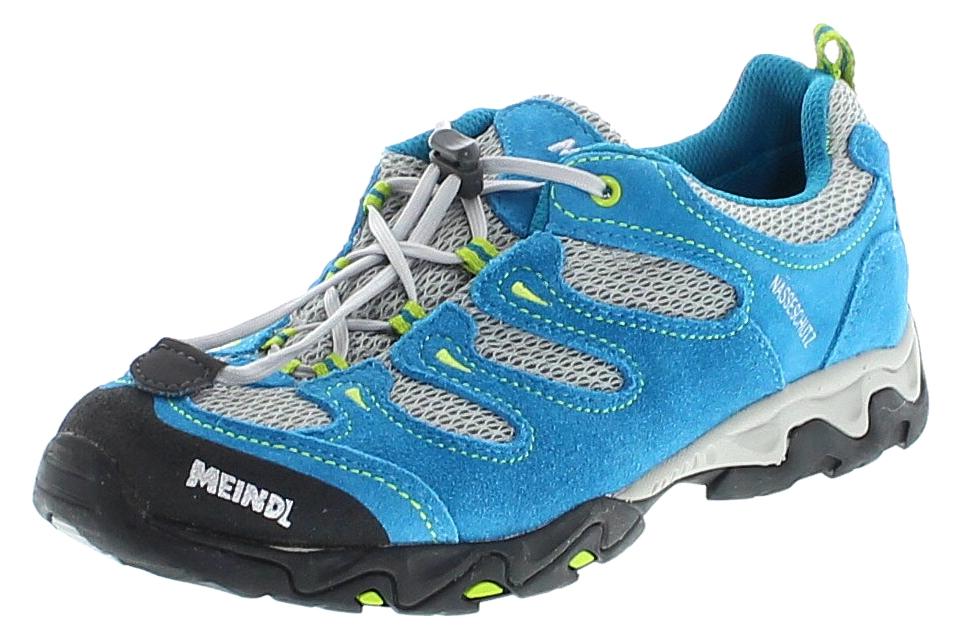 Meindl 2057-53 TARANGO JUNIOR Petrol Lemon Kinder Hiking Schuhe - Blau