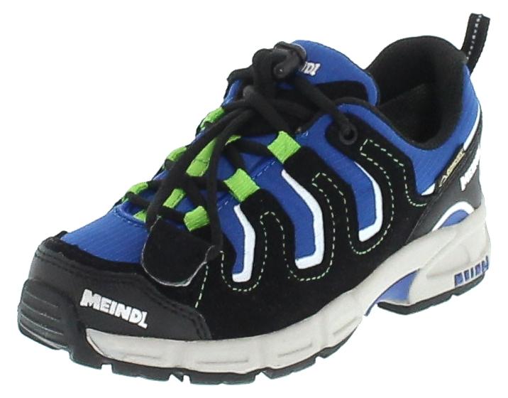 Meindl 2081-49 BURNS JUNIOR GTX® Marine Grün Kinder Hiking Schuhe - Blau