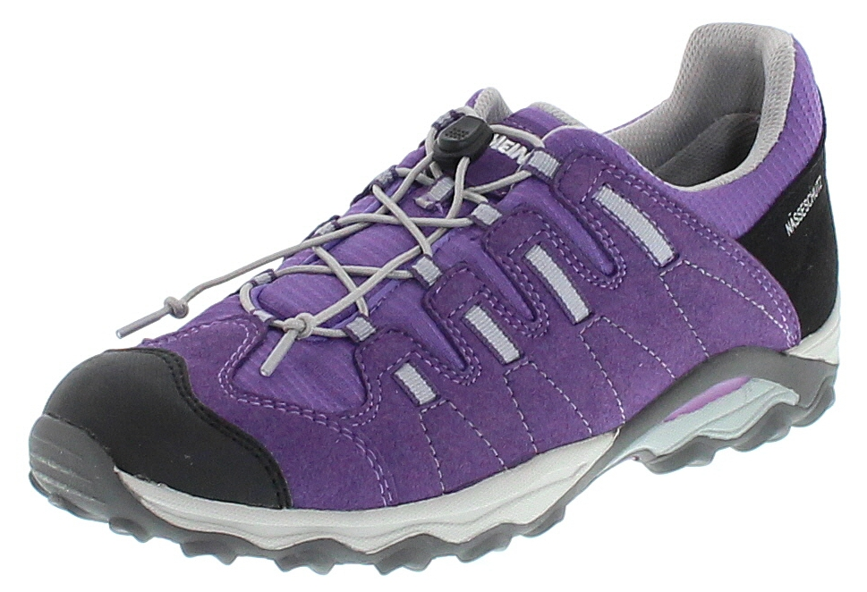Meindl 2092-92 ACRI JUNIOR Purple Grau Kinder Hiking Schuhe