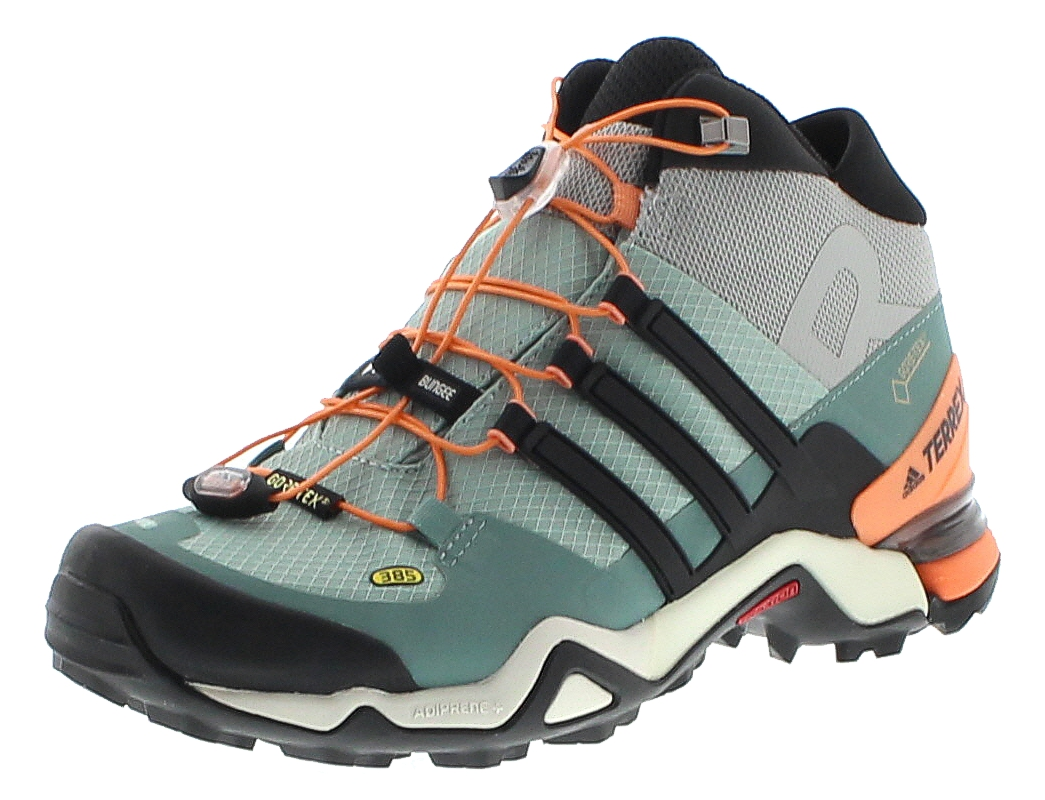 adidas BA8045 TERREX FAST R Mid GTX Türkis Damen Trekking Schuhe