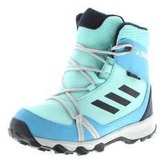 Adidas S80886 TERREX SNOW CP CW Türkis Kinder Winterstiefel – Bild 1