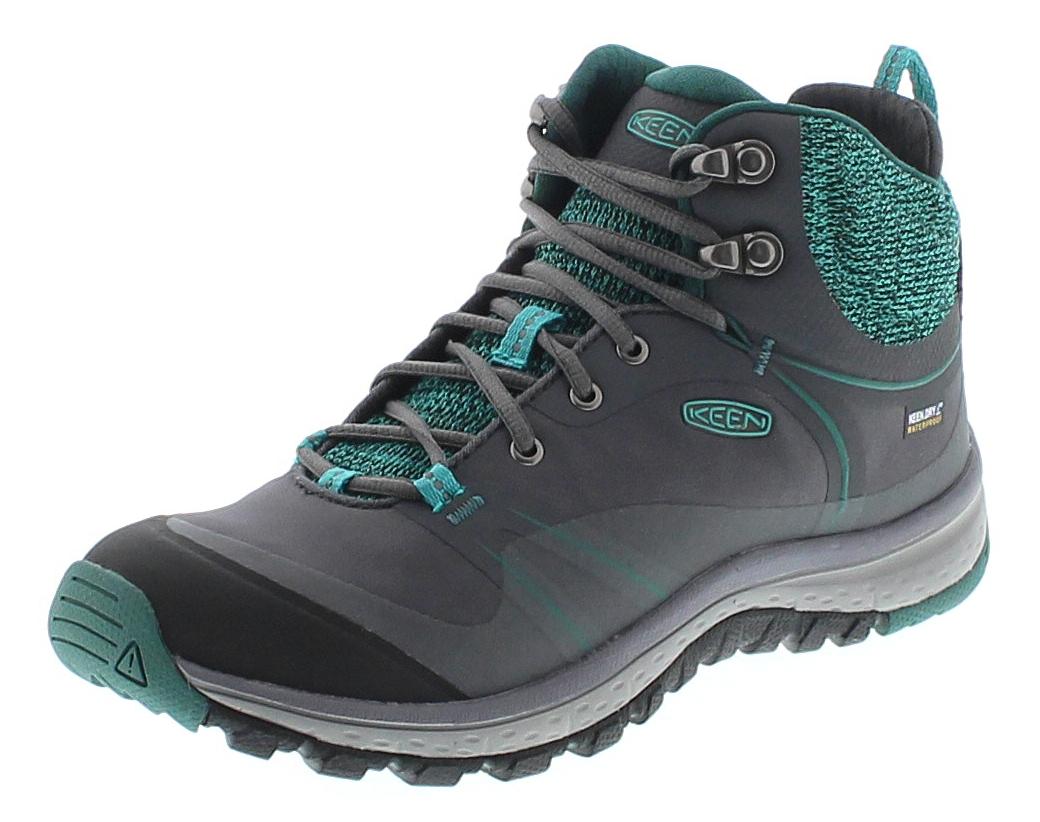 Keen 1018019 TERRADORA PULSE MID WP Magnet Baltic Damen Trekking Stiefel - Grau
