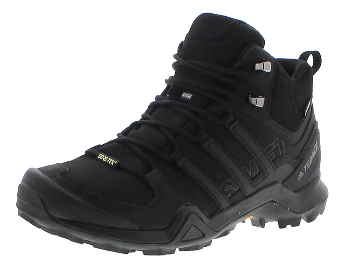 Adidas CM7500 TERREX SWIFT R2 MID GTX Schwarz Herren Hiking Stiefel