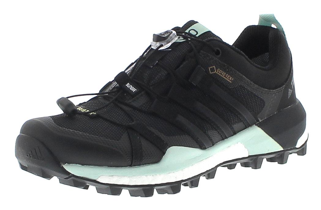 Adidas CQ1744 TERREX SKYCHASER GTX Schwarz Damen Hiking Schuhe