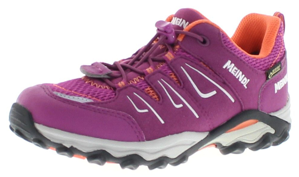 Meindl 2104-98 ALON JUNIOR GTX Fuchsia Orange Kinder Hiking Schuhe - Pink